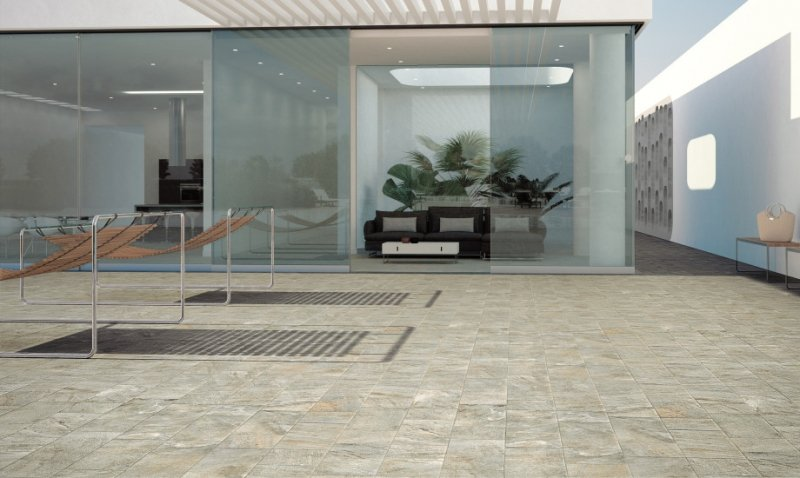 Monocibec edil ceramica botticino for Pavimenti terrazzi